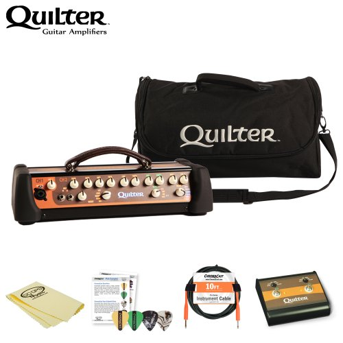 Quilter MicroPro 200 Amp Head w/ Accessories & Amp Bag by GoDpsMusic