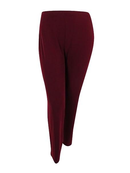 85ce36ebc0f4f Alfani Womens Matte Jersey Pull On Wide Leg Pants at Amazon Women s  Clothing store