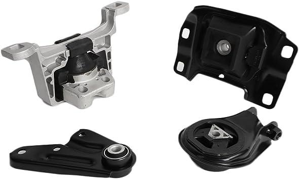 4 Piece Engine /& Transmission Mount Kit for 04-09 Mazda 3 Brand New