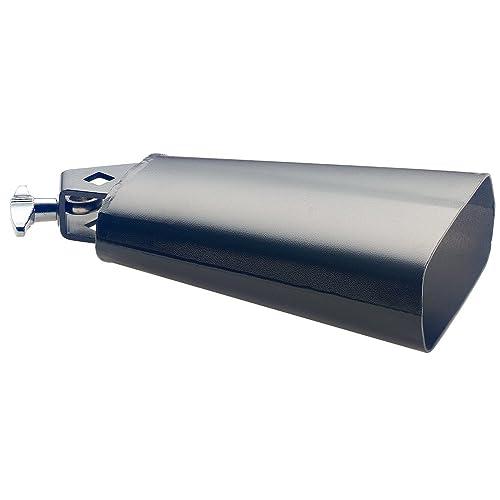 klangbeisser Conjunto de cencerros / Cencerros de batería negro Set de cencerros DREAMTEAM con trípode