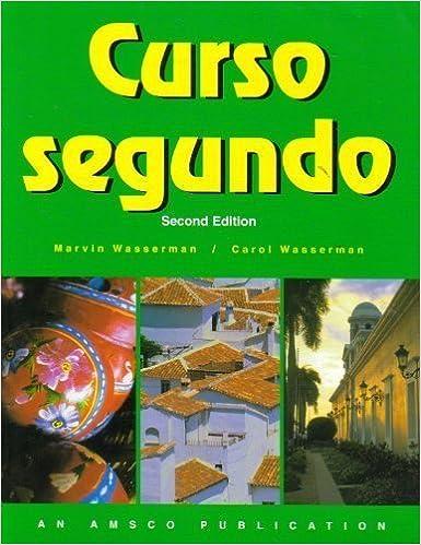 Amazon curso segundo spanish edition 9781567654820 curso segundo spanish edition spanish 2 workbook edition fandeluxe Choice Image