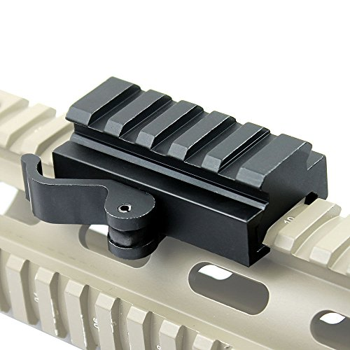LVLING 5-Slot Universal QD Lever Lock Adaptor and Riser
