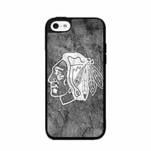 Concrete Wall Chicago Blackhawks Plastic Phone Case Back Cover iPhone 5 5s