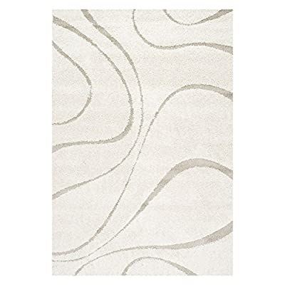 nuLOOM Bobo Shag Collection Caroyln Area Rug