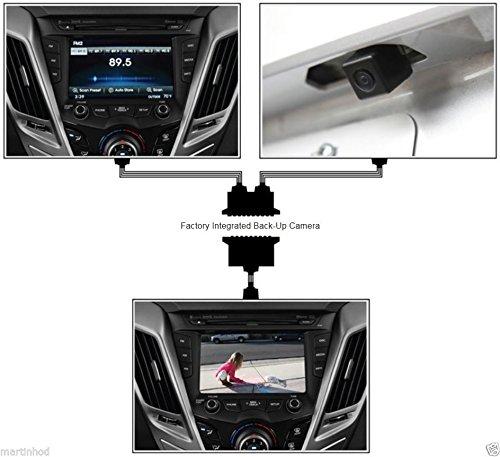 Echo Master FC-ODYS 2011-2013 HONDA Odyssey Rear View Camera