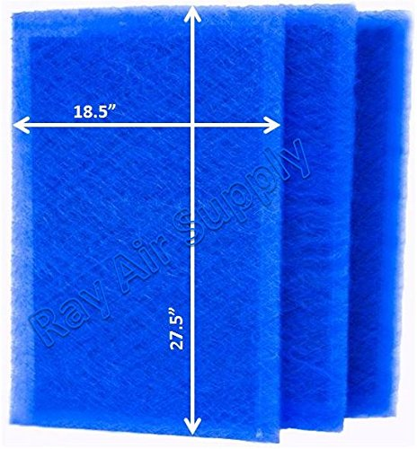 RAYAIR SUPPLY 20×30 ARS Rescue Rooter Air Cleaner Replacement Filter Pads 20×30 Refills (3 Pack)