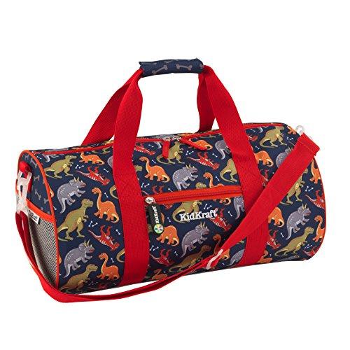 KidKraft Dinosaur Kids Duffle Bag, 18 x 9.5 x 8.5