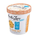 Arctic Zero Ice Cream, Cookie Dough Chip, 16 Ounce (Pack of 6)
