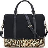 CAMTOP Canvas Weekender Bag, Travel Duffle Women