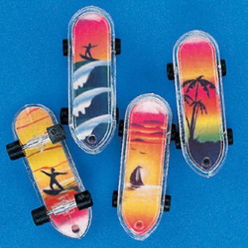 Tropical Mini Skateboards Party Favors
