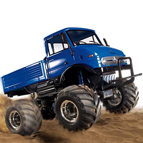 Tamiya RC limited series 1/10 electric RC car Mercedes-Benz Unimog 406 Willie painted body Blue 84320