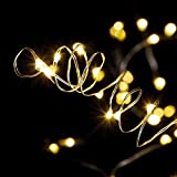 Fairy String Lights, 20-LED Bottle Fairy Lights, 6-Pack Warm White Wine Bottle Copper Wire, Battery-Operated Cork Lights