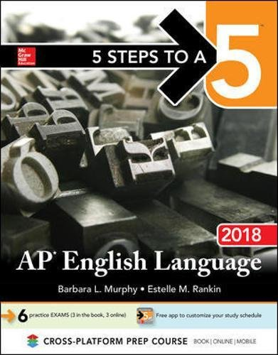 5 Steps to a 5: AP English Language 2018 cover