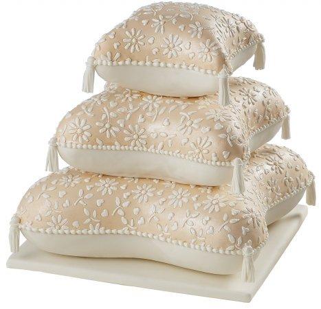 Performance Cake Pan Set 3/Pkg-Pillow 6.75, 10, 13.25 by Wilton by Wilton