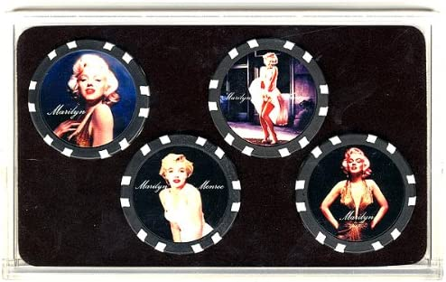 Spinettis Marilyn Monroe Limited Collector Poker Chip Set
