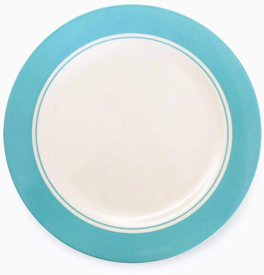 """Bowla Melamine Dinner Plates Set - Set of 6, indoor or ourdoor plates (11"""" -6 Piece Set, Zoo Birds B)"""
