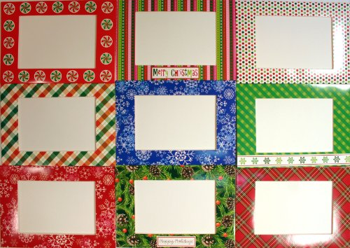 Photo Frame Holiday Cards