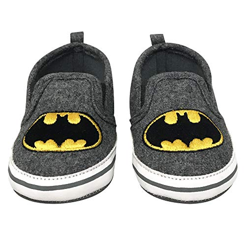 DC Comics Batman Infant Soft Sole Slip-On Shoes - Size 6-9 Months