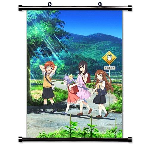 Non Non Biyori Anime Fabric Wall Scroll Poster Wp -Non Non Biyori- 3