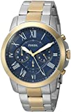 Fossil Men's FS5273 Grant Chronograph Two-Tone Stainless Steel Watch