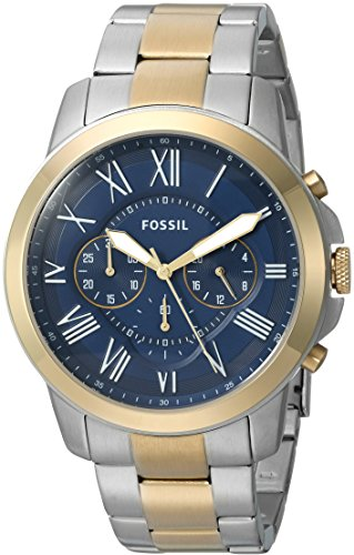 Fossil-Mens-FS5273-Grant-Chronograph-Two-Tone-Stainless-Steel-Watch