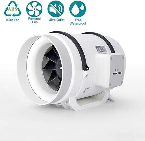 Ventilador Extractor de Aire en Línea 10 250mm / Motor de Dos ...