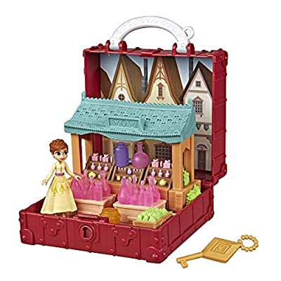 Disney Frozen Pop Adventures Village Set Pop-Up Playset with Handle, Including Anna Small Doll Inspired by The Frozen 2 Movie - Toy for Kids Ages 3 & Up: Toys & Games