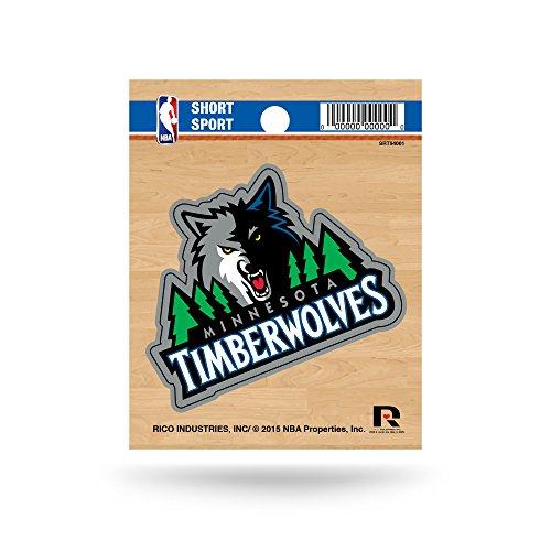 fan products of NBA Minnesota Timberwolves Short Sport Decal