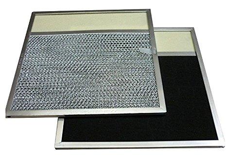KHY Range Hood Aluminum Mesh Vent Lens Filter 11 1/2 x 11 3/4 x 5/16for Broan NuTone Rangaire Model 43000 R610050
