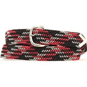 Double S Men's 52″ Braided Belt Multi One Size
