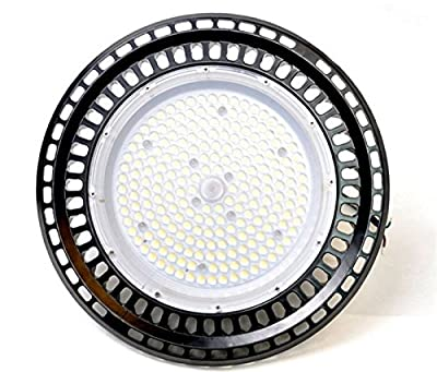 1-pack High power 100W SMD3030 LED High Bay Light UFO 12000lm Mining Lamp 6500K daywhite indoor Warehouse Commercial bay Lighting LED Lights Retail LED Lights