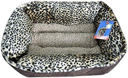 Sofantex Plush Pet Bed Leopard 02, 25