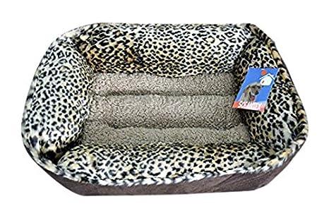 Amazon.com: sofantex Faux Fur felpa mascota cama: Mascotas