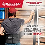 Mueller 255 Lumbar Support Back Brace with