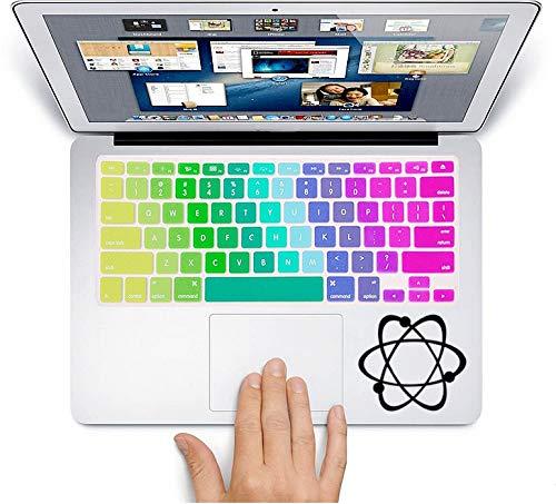atom molecule Decorative Laptop Skin - Molecule Sticker