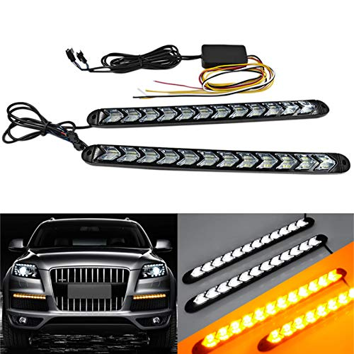 (SOCAL-LED 2x Arrow LED DRL Switchback Strips 10