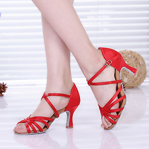 Miyoopark - salón mujer Red-7.5cm Heel