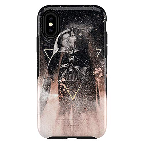 (OtterBox Symmetry Series Disney Galactic Collection Case for iPhone 8 & iPhone 7 (NOT Plus) - Retail Packaging - Darth Vader (Black/Black/Darth Vader Graphic))
