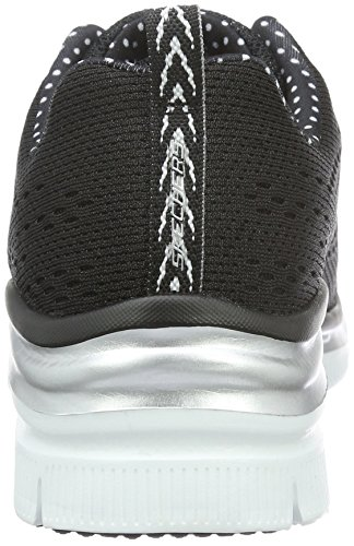 Navy nbsp;Statement 3 Skechers Mehrfarbig Sneaker UK Fashion Bkw Black Fit Piece Women's OxwxpCY