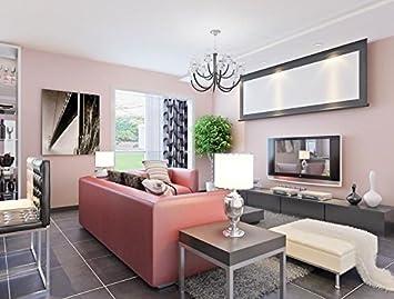 SDKKY Gelb Rosa Farbe Tapete schwarz weiß minimalistischen Büros ...