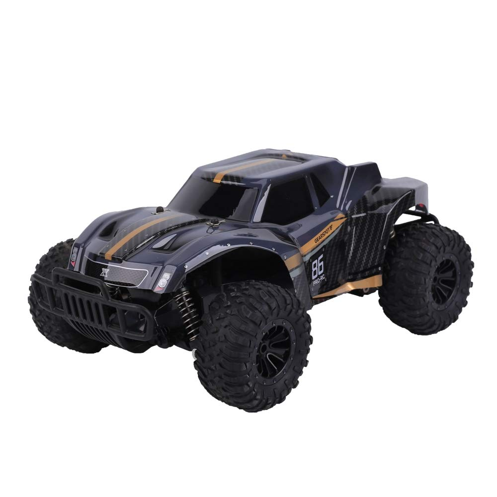 FLYZOE Remote Control Car 1: 16 Scale Buggy Vehicle 2.4Ghz Radio Controlled High Speed Off Road Vehicle, Black