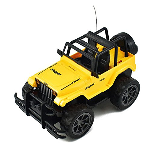 Livoty 1 24 Drift Speed Radio Remote Control Rc Jeep Off Road Vehicle Car Kids Toy Gift  Random Color