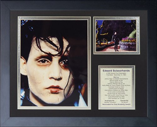 Legends Never Die Edward Scissorhands Collage Photo Frame, 11