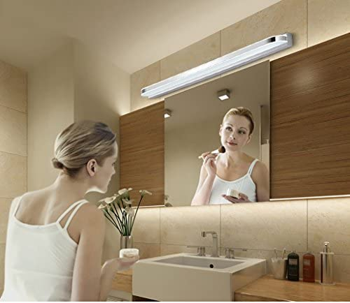 &LED Spiegelfrontlampe LED-Spiegel-vordere Lichter, wasserdichte Anti-fog Badezimmer-Spiegel-Lampen-Wand-Lampe europäische einfache moderne Spiegel-Kabinett-Lichter führte Lichter Lampe vor dem Spiege