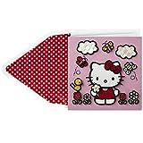 Hallmark Signature Hello Kitty Blank Card (Birthday Card or Thank You Card)