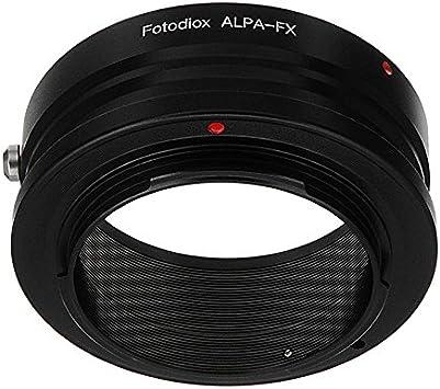 Fotodiox Lens Mount Adapter Alpa 35mm Slr Lens To Camera Photo