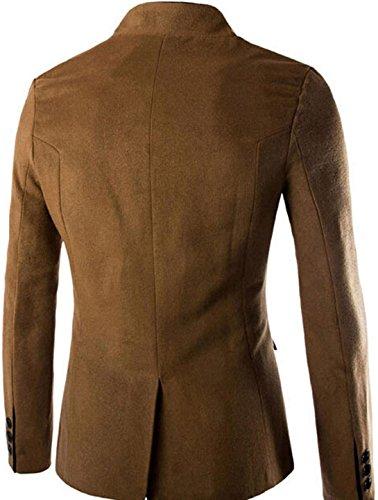 9388 Mens Blazer Moda Hombres Blusas Tops Outerwear Jeansian Jacket Camel Fashion Abrigos Chaqueta BgPPZS