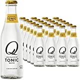 Q Drinks, Q Tonic Water, Spectacular Tonic Water, Premium Mixer, 6.7 Ounce Bottle (Pack of 24)