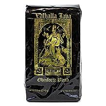 Valhalla Java Ground Coffee, by Death Wish Coffee, Fair Trade, Organic Coffee Beans, 12 ounce Bag