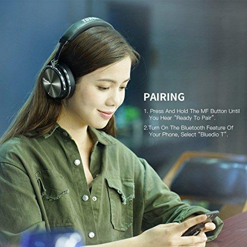 Bluedio Bluetooth Headphones Wireless Headphones, T4 (Turbine) Active Noise...